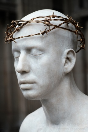 Crown of Thorns - Gilded Barbed Wire