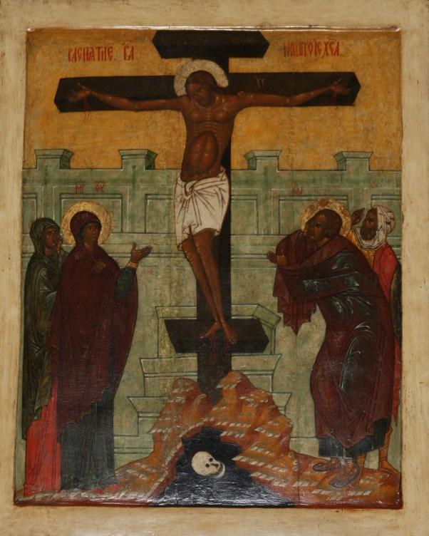 Icon_1500s_Crucifixion