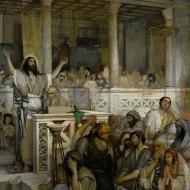 Maurycy Gottlieb - Christ preaching at Capernaum