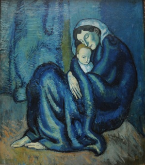 20130716Mother and child, Picasso, Fogg Art Museum, Harvard-70
