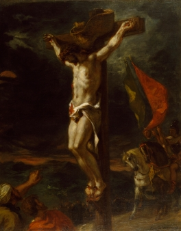 Eugène_Delacroix_-_Christ_on_the_Cross_-_Walters_3762_(2)