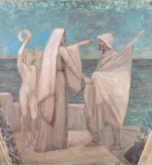 Pierre_Puvis_de_Chavannes_-_Study_for_Patriotism_-_Google_Art_Project
