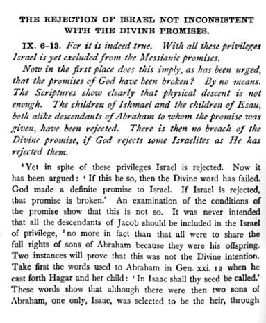 Romans 9-6-13